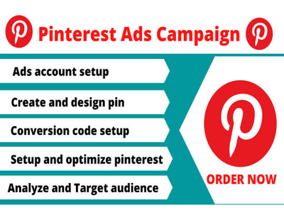 Set up your successful pinterest ads campaigns