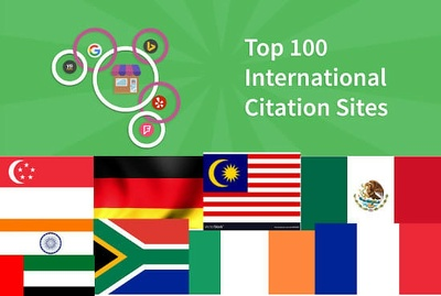 20 international local citations for any country worldwide