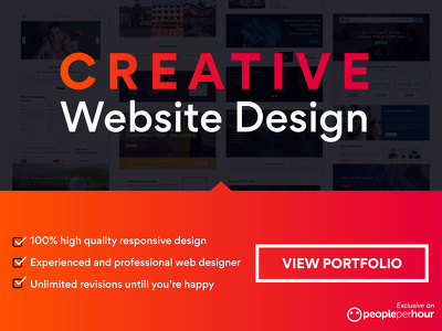 3 page website design with web hosting
