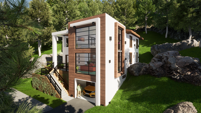 Create realistic architectural 3d renderings and animations