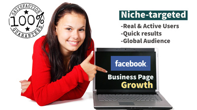 Grow Facebook Business Page with Aggressive Post Engagements