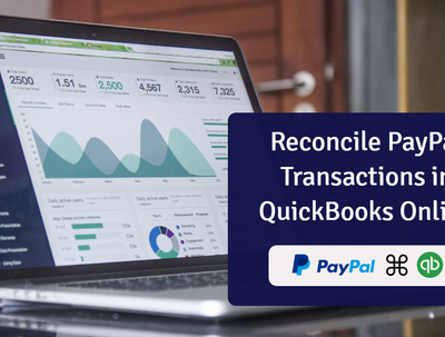 Reconcile bank on quickbooks for 1 month