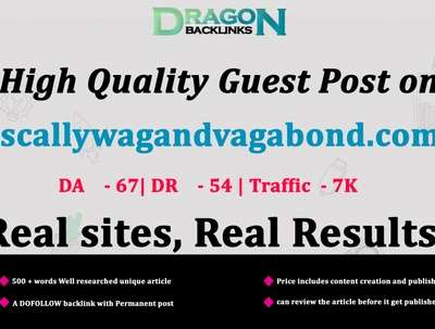 High Quality Guest Post on scallywagandvagabond.com