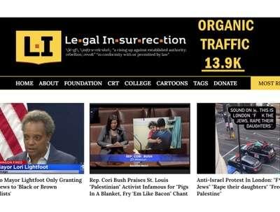 Guest Post on News Site Legalinsurrection .com DA 73