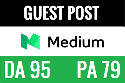 Post your article  on MEDIUM