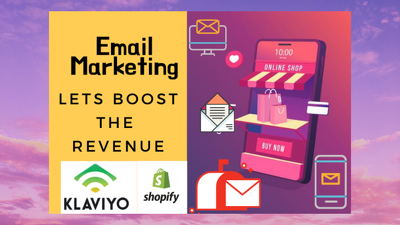 Integrate email marketing tool klaviyo with e-commerce store