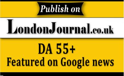 Guest Post On Google News Approved london journal uk  DA 55