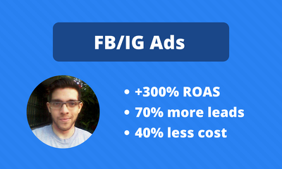 Get leads and sales for a month using FB/IG Ads