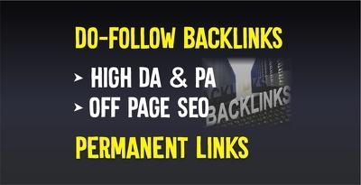 Build high quality dofollow SEO backlinks