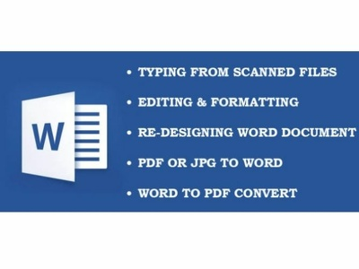 A High Standard Word Dacument Design for your Business