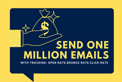 Send 1 million emails for your mass email campaign
