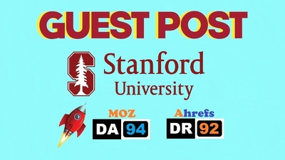 Edu Guest Post On Stanford University, Stanford.edu DA94 & DR92