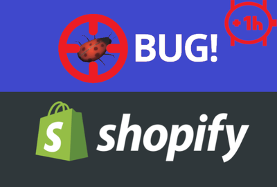 Fix any Bug in Shopify Store 1hr SPECIAL Bug Fixing