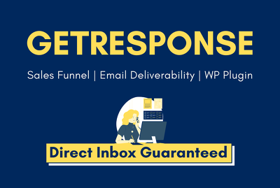 Setup getresponse sales funnel with email deliverability and WP