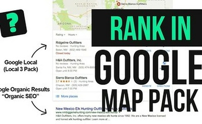 Local SEO Gmb google maps booster package