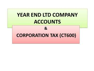 File your UK company accounts and tax return