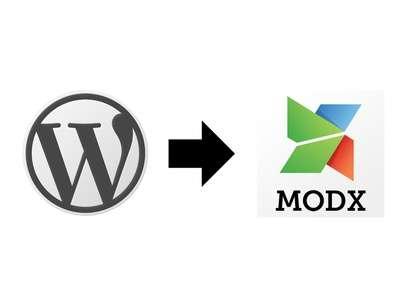 Migrate Wordpress into MODX