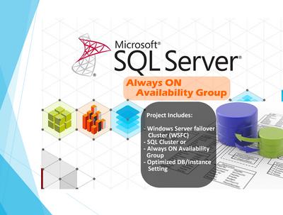 Setup SQL Server Always ON Availability Group OR SQL Cluster