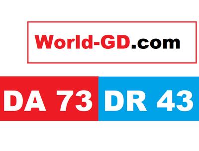 Guest post on my news blog world - gd world- gd . com DA 73