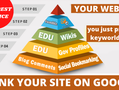 Provide the best SEO link pyramid service for Google Ranking