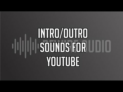 Create intro / outro sounds and music for YouTube and Podcasts