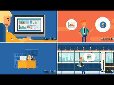 Create 30 seconds Business Animated Video Explainer
