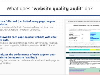 Complete SEO Audit ( Technical Audit Website Quality Audit)