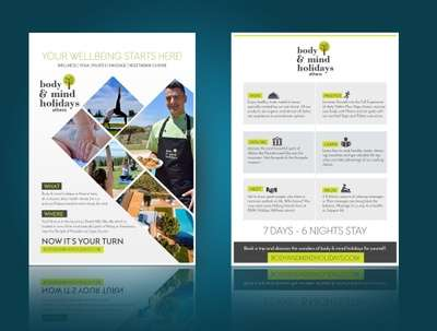 Design clean corporate flyer design