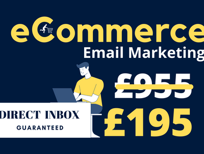 Setup ecommerce email marketing with a high inbox rate