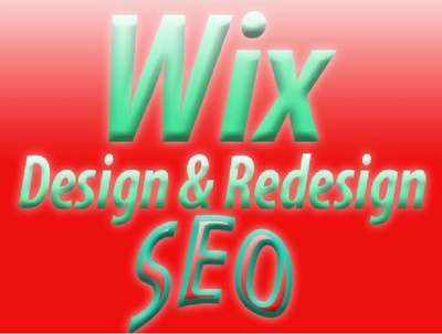 Design ,redesign SEO wix website online store
