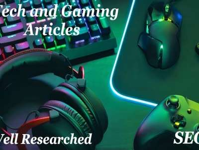 Write 500-word article on gaming and technology