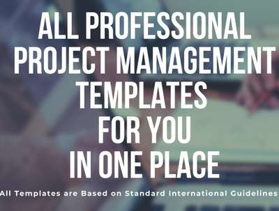 Provide Professional Project Management Templates