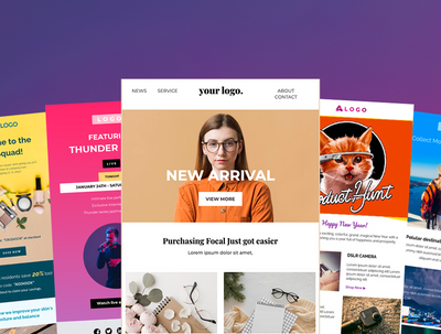 Hubspot editable email template (easily edit with drag and drop)