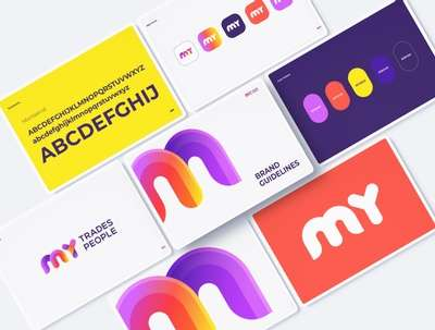 Design  your Brand Identity Pack: Logo and Style Guide