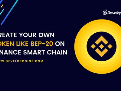 Create binance bep20 erc20 token and crypto smart contract.
