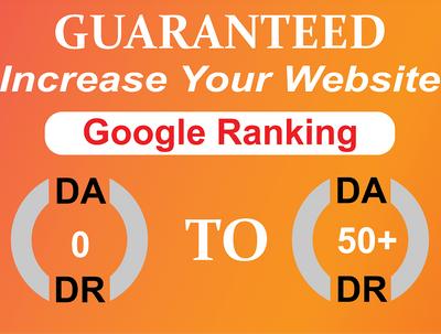 Increase Your Website Ahfrefs Domain Authority DA50+