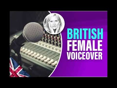 Record your 100 word British Voiceover