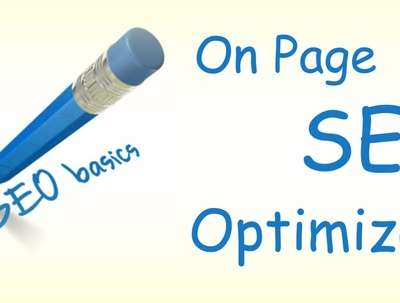 You will get ON page optimization for your website