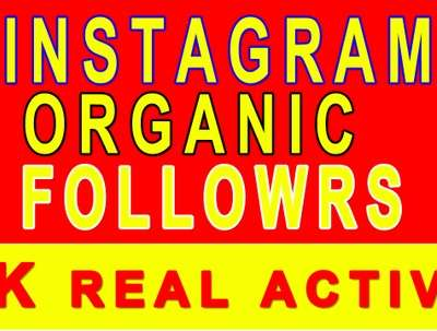 Increase Instagram 2000 followers by organically, engagement too
