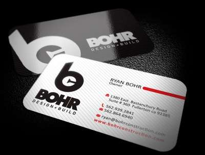 Design double sided corporate business cards in 2 hours