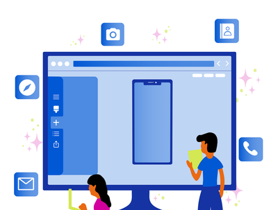 Build and launch your mobile app