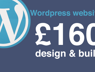 Design & develop a responsive Wordpress website