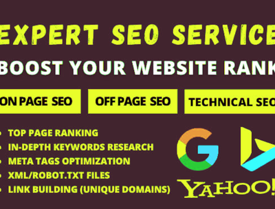 RANK YOU WEBSITE WITH TOP WHITE HAT SEO PACKAGE