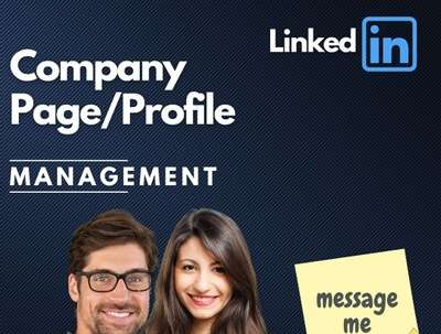 Manage and grow LinkedIn Company Page for 5 days | Daily Posts