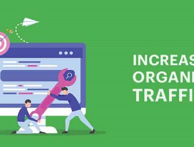 Drive keyword targeted monthly 50K organic traffic