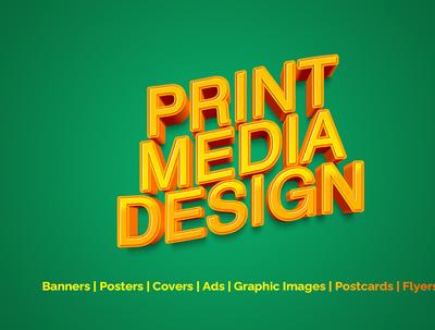 Design your Business Print Media design
