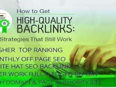 I Will MANUALLY Do 100 UNIQUE PR7 SEO BackLinks on DA 90+ sites