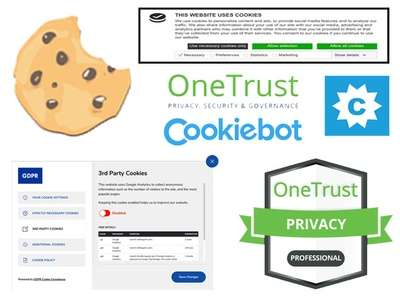 Implement a cookie control solution on your site