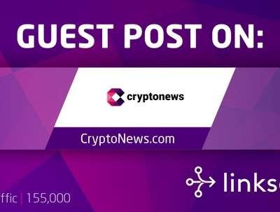 Publish crypto article on Crypto News [DA58, DR75, 155k traffic]