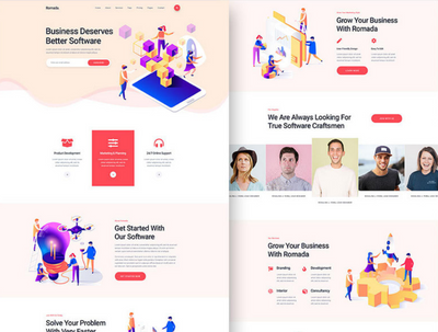 Convert figma, PSD, xd, to Responsive HTML Template